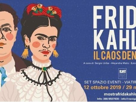 Frida Kahlo: Il Caos dentro, la mostra sensoriale arriva a Roma