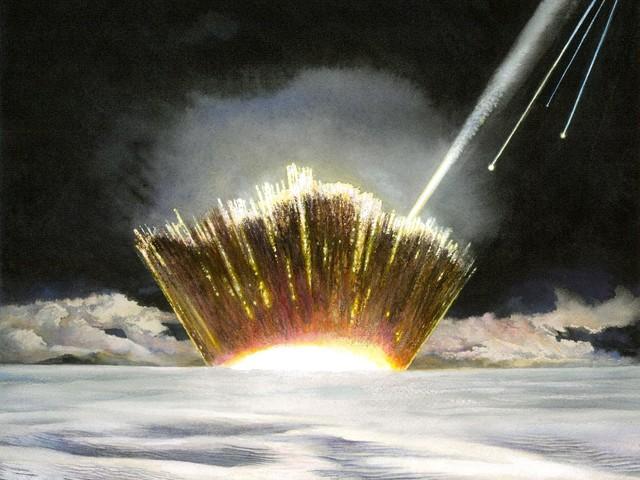 In Groenlandia scoperto un cratere da impatto di meteorite largo 31 Km (VIDEO)
