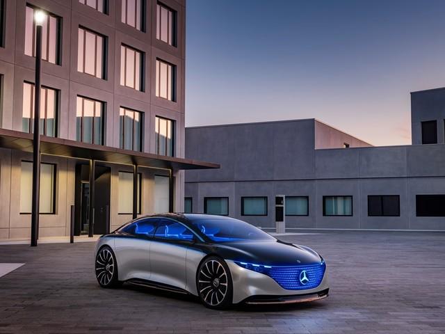 La Mercedes-Benz VISION EQS è una pietra miliare nel futuro di Mercedes-Benz