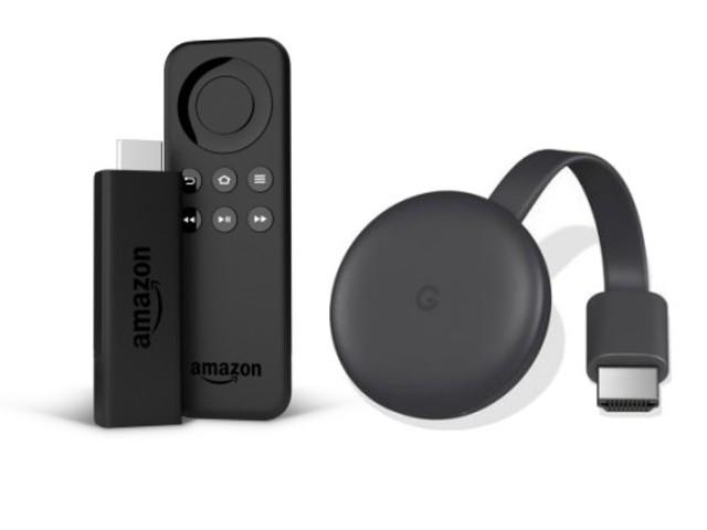 Fire TV e Chromecast: le principali differenze tra le due chiavette WiFi