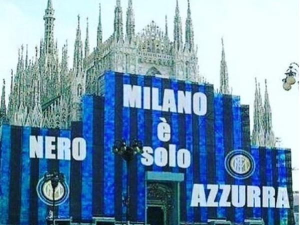 """Inter, Icardi festeggia il derby vinto sui social: """"Buongiorno Milano"""""""