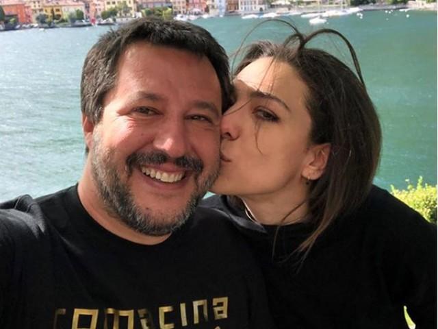 Tra Matteo Salvini e Francesca Verdini spunta il 'tipo' di Uomini e donne