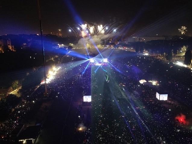 Campidoglio: grande successo per la Festa di Roma 2020, circa 300 mila partecipano