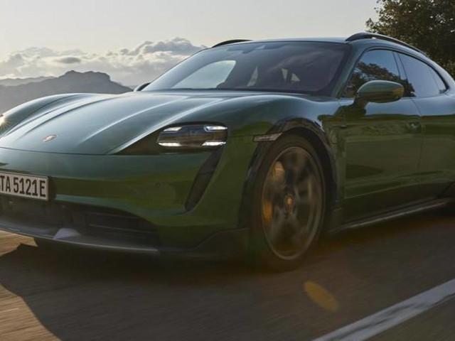 Porsche Taycan Cross Turismo, l'elettrica familiare-crossover
