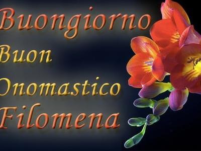 Santa Filomena: frasi buon onomastico e significato del nome Filomena