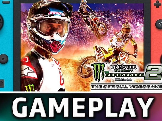 Monster Energy Supercross – The Official Videogame 2: Ecco 10 minuti dalla versione Nintendo Switch