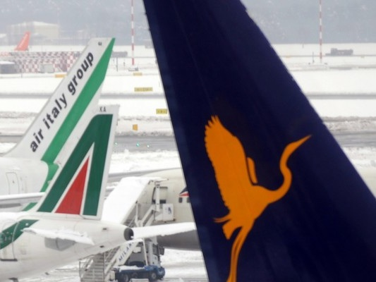 Per il salvataggio di Alitaliatorna in ballo Lufthansa