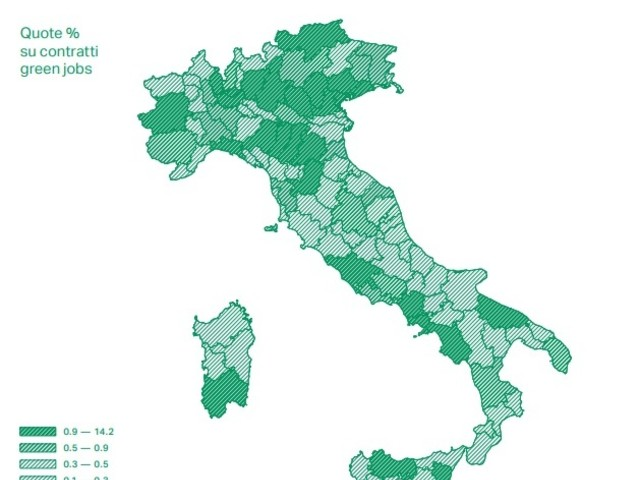 Ecco quali sono i green jobs più richiesti in Italia, e dove