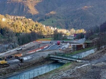 Variante di Zogno, l'area è stata ripulita Dall'anno prossimo cantiere avanti tutta