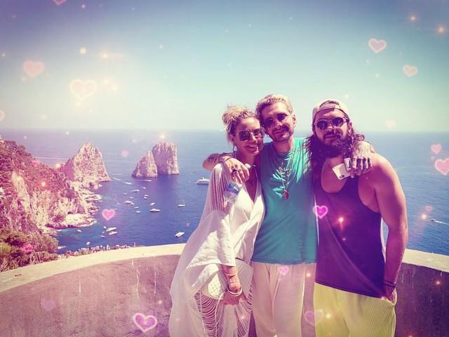 Heidi Klum, bagno in acque proibite a Capri: rischia 6mila euro di multa
