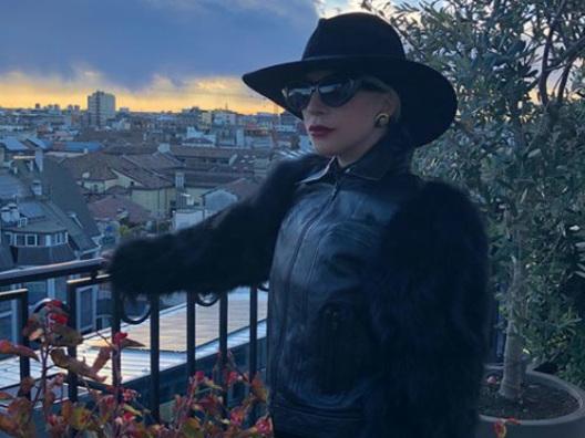 Lady Gaga è arrivata a Milano