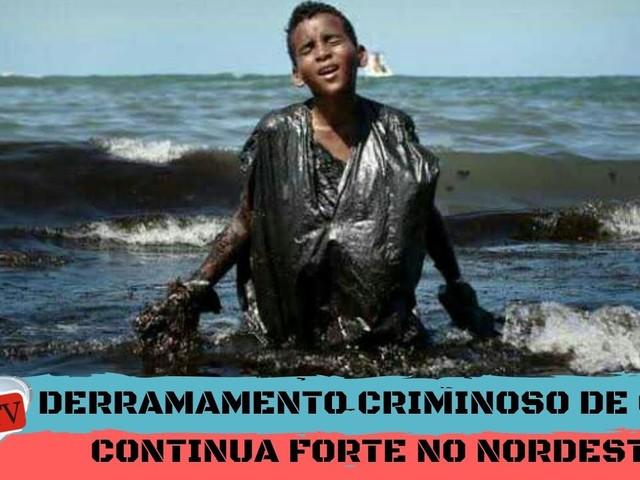 La marea nera sulle coste del Brasile provocata da una petroliera greca?