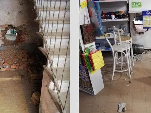 """""""Guardate a cosa possono arrivare"""": ladri bucano il muro e rubano sigarette a Vicomoscano"""