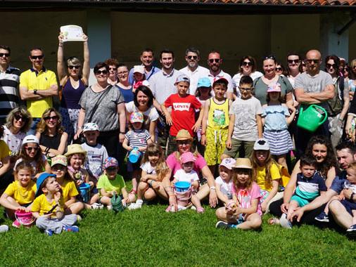 """Ponteterra, Festa della Repubblica ecologica con l'asilo Braga e i """"bimbi sugli alberi"""""""
