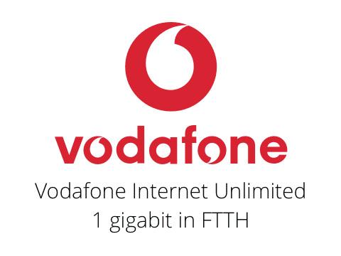 Vodafone Internet Unlimited. L'offerta fibra più conveniente del momento.
