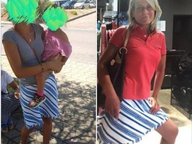 Le rubano i vestiti in spiaggia Debora Pedrotti li riconosce indossati da due nomadi: fermate