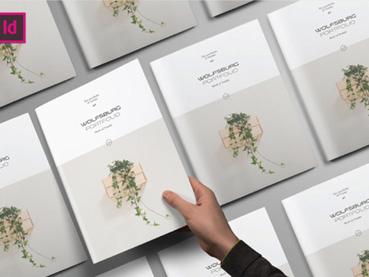 24 Creative InDesign Portfolio Templates (Best for 2019)