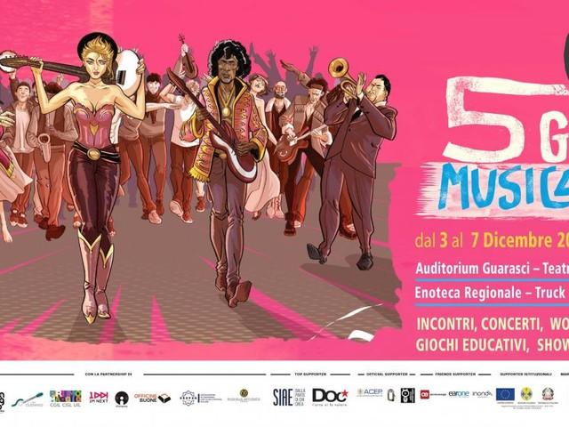 Premio 'Musica contro le Mafie', la decima edizione a Cosenza fino al 7 dicembre