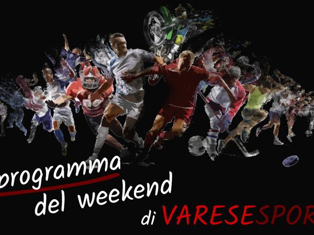 Il programma sportivo del weekend del 9-10 ottobre