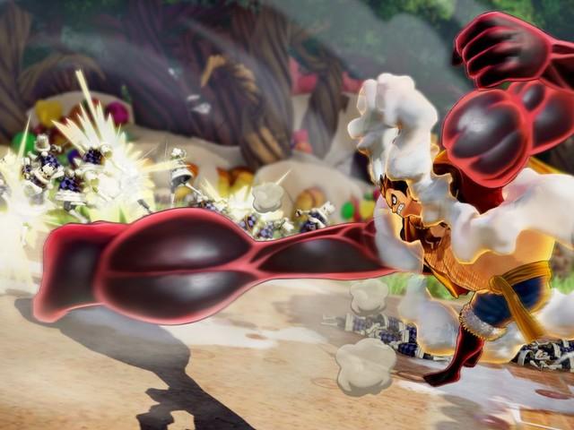 One Piece Pirate Warriors 4: nuove immagini per Snakeman Luffy e Charlotte Katakuri