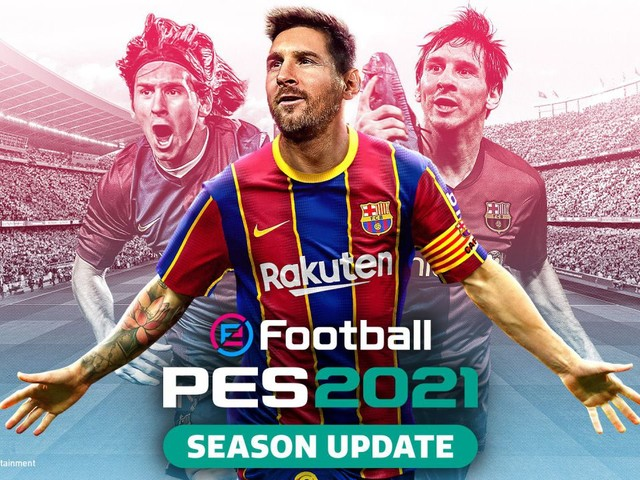 eFootball PES 2021: Disponibile il Data Pack 3.0