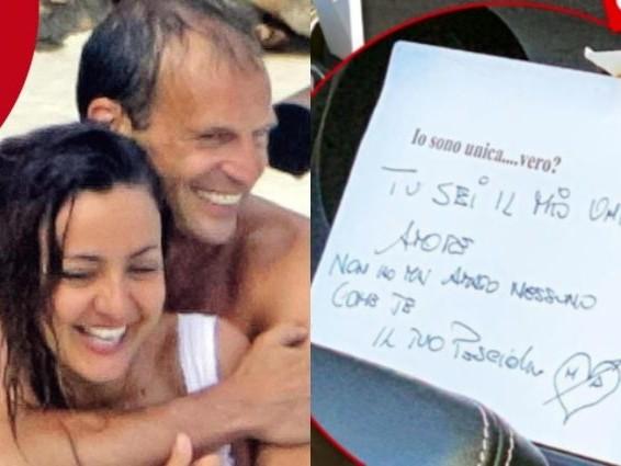 """Ambra Angiolini e la dedica a Massimiliano Allegri: """"Mai amato nessuno come te, tuo pesciolino"""""""