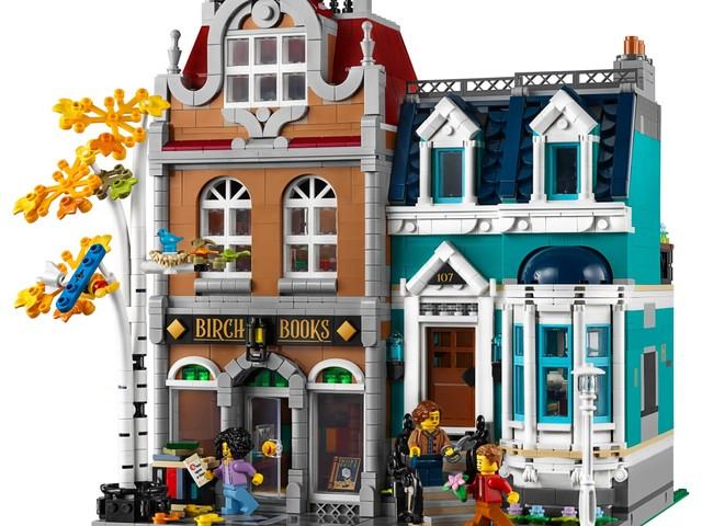Ufficiale il set LEGO Creator Expert 10270 Bookshop