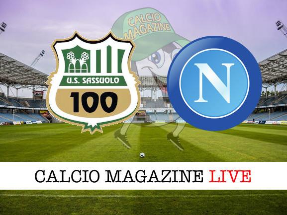 Sassuolo – Napoli: cronaca diretta live, risultato in tempo reale