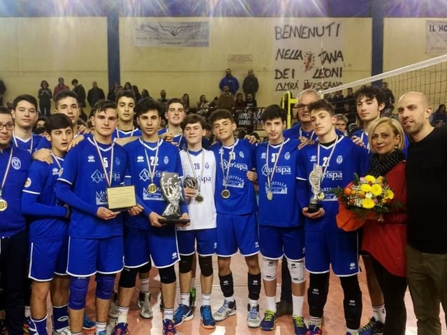 Volleysalento, Progetto Azzurra Alessano campioni territoriali U16