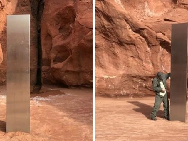 Il monolite misterioso nel deserto dello Utah
