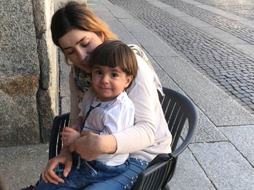 Salim e la madre Kwestan, dalla fuga dall'Isis alla salvezza grazie a Pobic Calvatone
