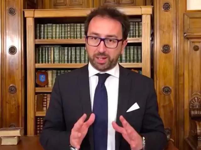 """Processo Vannini, Bonafede: """"Inaccettabili le parole del magistrato"""""""