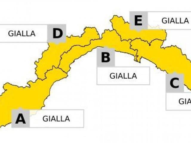 Meteo, torna l'allerta gialla sulla Liguria
