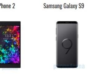 Razer Phone 2 vs Samsung Galaxy S9 vs Apple iPhone XS: Il confronto
