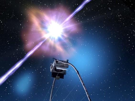 Catturata l'emissione di luce più potente nello spazio: originata dall'esplosione di un lampo gamma
