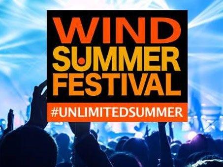 Suddivisione ospiti del Wind Summer Festival: gli artisti in Piazza del Popolo a Roma 22, 23, 24 e 25 giugno