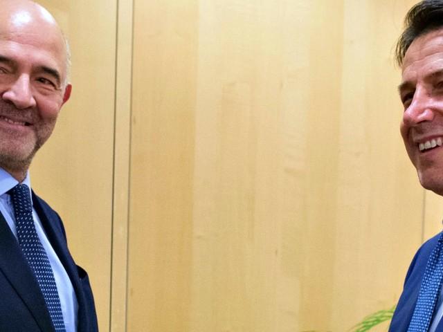 """Lettera all'Ue, Moscovici: """"Non si discuta su regole"""". Conte: """"Ddl assestamento certificherà il miglioramento conti"""""""