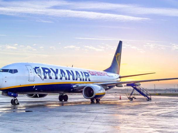 Le tratte estive del 2019 di Ryanair