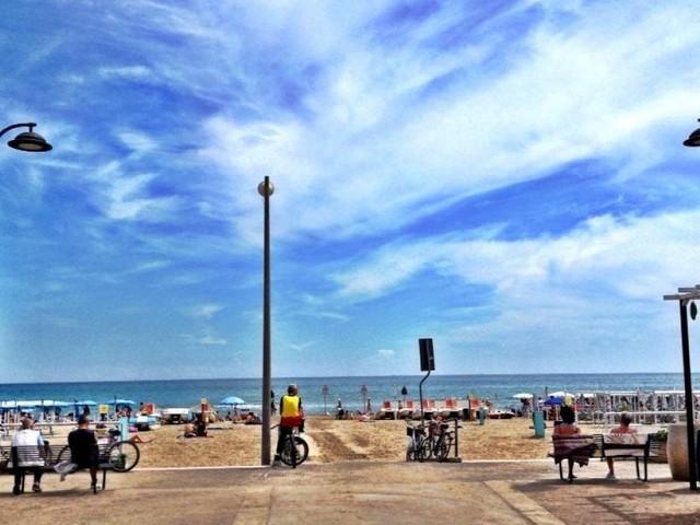 La spiaggia di Riccione si candida a patrimonio Unesco dell'umanità