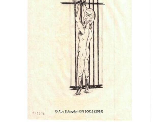 Torturato da Cia lo racconta in disegni
