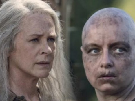 Alpha Vs Carol in The Walking Dead 10: le novità su Gamma e sull'addio di Danai Gurira