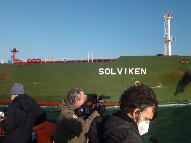 Trieste, la petroliera Solviken alla Siot con 95mila tonnellate di carico
