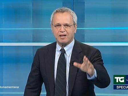 """Enrico Mentana: """"Vorrei diventare un pensionato che sta a guardare gli operai ai cantieri"""""""