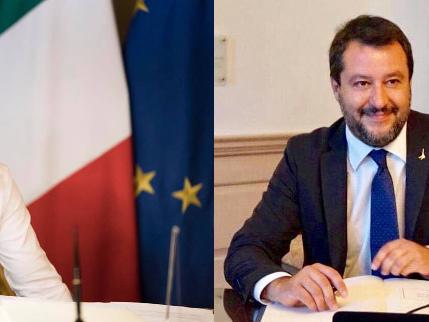 """""""Sleale"""", """"Vuoi ministro Pd"""". Lite a distanza Conte-Salvini"""