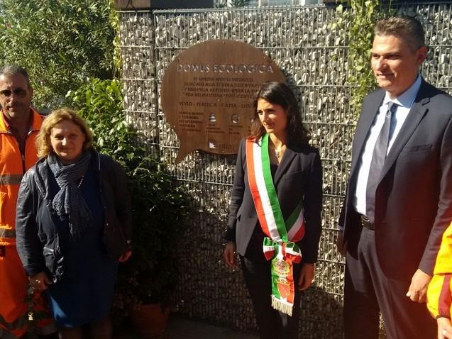 Campidoglio, in scuola infanzia Ostia inaugurata la prima Domus Ecologica di Roma