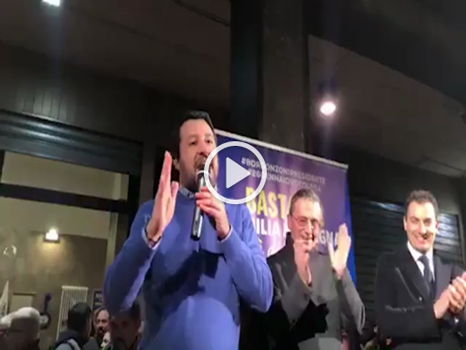 Ravenna, Salvini cambia idea sulla Nutella: «Ha nocciole turche, meglio mangiare italiano»