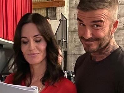 David Beckham attore per un giorno in una celebre serie tv