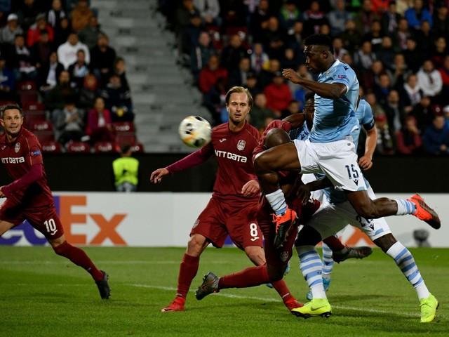 Europa League, la Lazio cade a Cluj: i rumeni si impongono 2-1