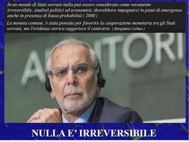 ITALIA FUORI DALL'EURO NEL 2020!
