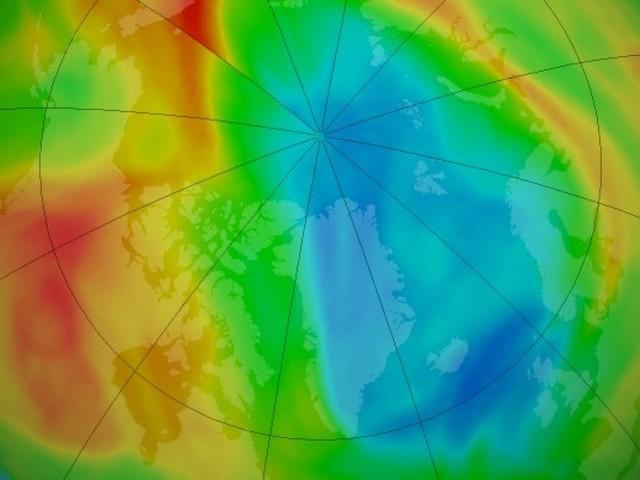 Artico: si è aperto un insolito buco dell'ozono